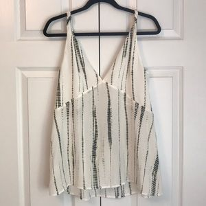 Banana Republic silk tank blouse